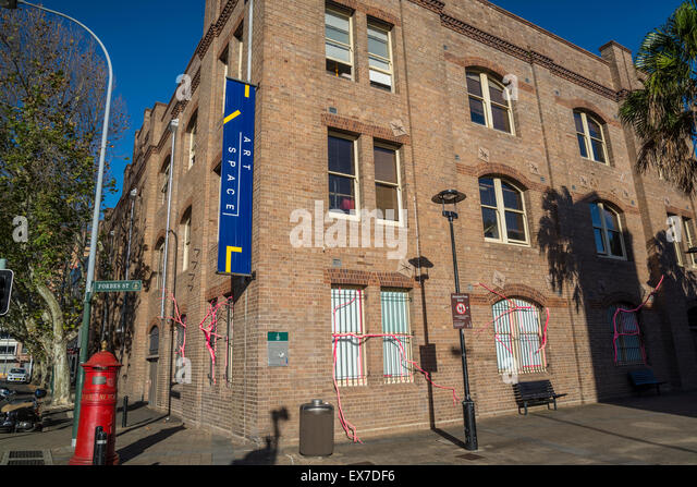 Art Space gallery, The Gunnery, Woolloomooloo, Sydney, Australia - Stock Image