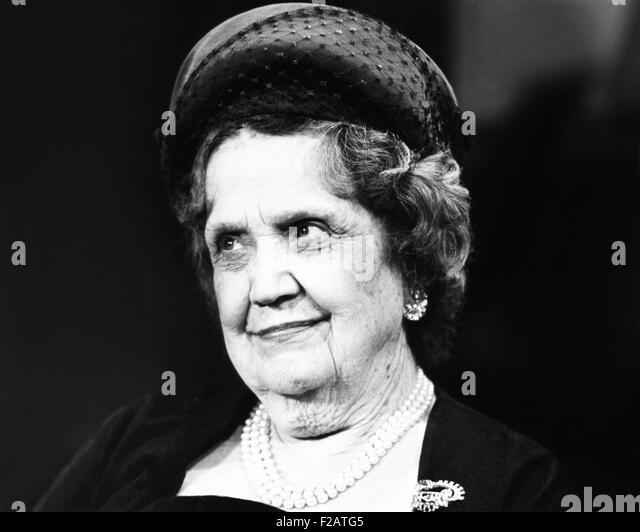 Pearl Mesta was Washington's best-known political hostess in the 1940s and 1950s. Ca. 1962. Her influence peaked - Stock Image