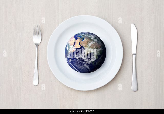 World hunger - Stock Image