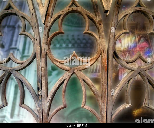 ES - MALLORCA: La Seu Cathedral at Palma de Mallorca (Digital Art) - Stock Image