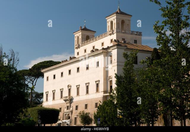 Villa medici and rome stock photos villa medici and rome stock images alamy - Villa medicis rome chambres ...