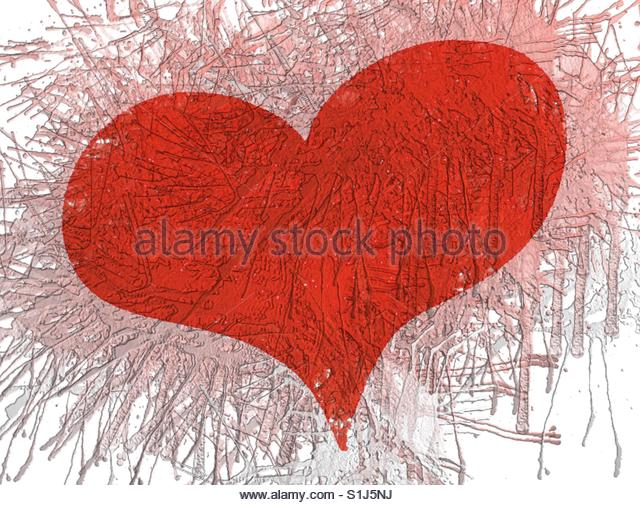 a Heart - Stock Image