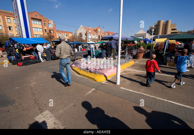 Pretoria Fleamarket - Stock Image