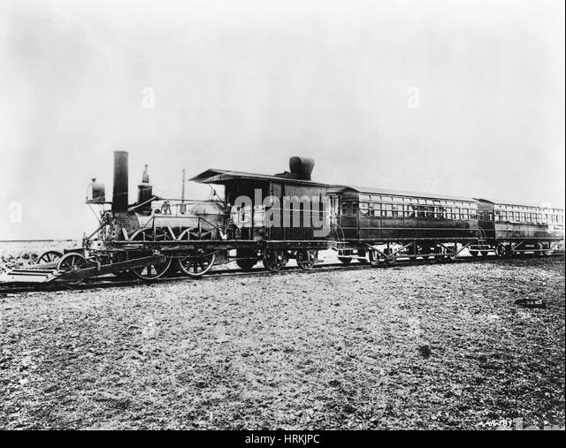 19th Century 'John Bull' Locomotive - Stock Image