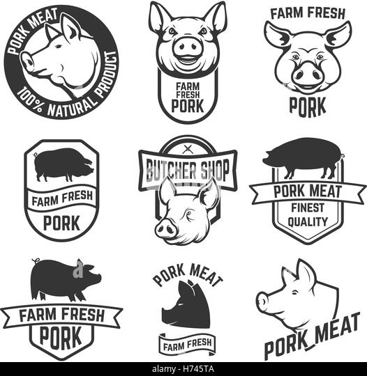 Meat Diagram furthermore Pork retail cuts chart together with  on hog cutting chart diagram