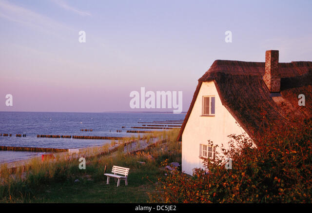 House by the sea - Stock Image