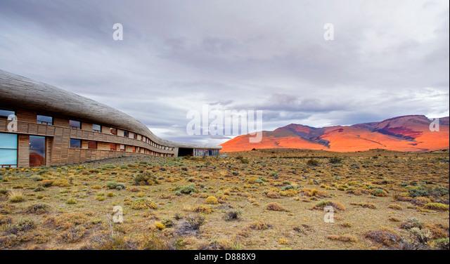Hotel Tierra Patagonia, Chile - Stock-Bilder