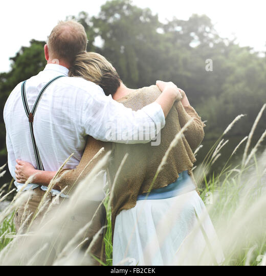 Love Togetherness Couple Passion Relationship Concept - Stock Image