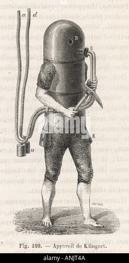 American Divers Suit - Stock Image