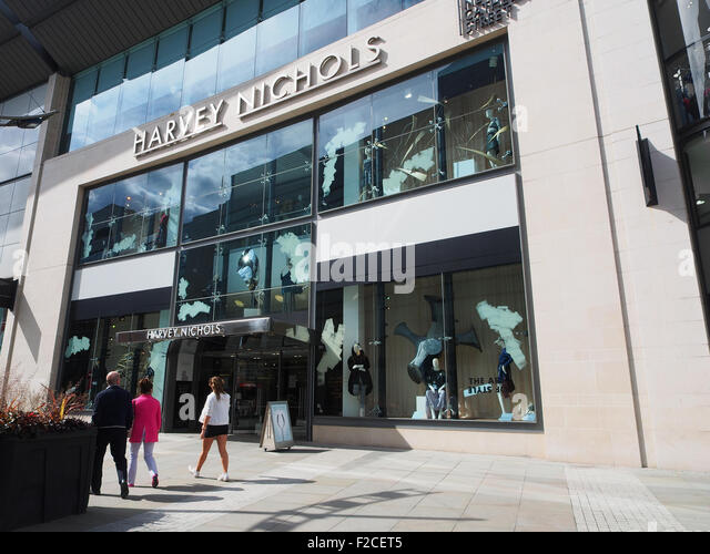 harvey nichols in manchester stock photos harvey nichols in manchester stock images alamy. Black Bedroom Furniture Sets. Home Design Ideas