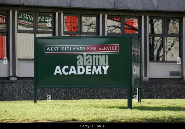 west midlands fire service academy - Birmingham UK - Stock Image