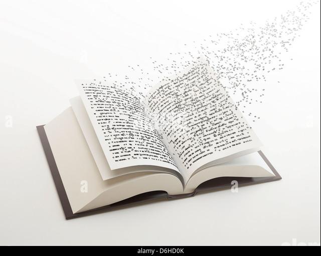 Knowledge, conceptual artwork - Stock Image