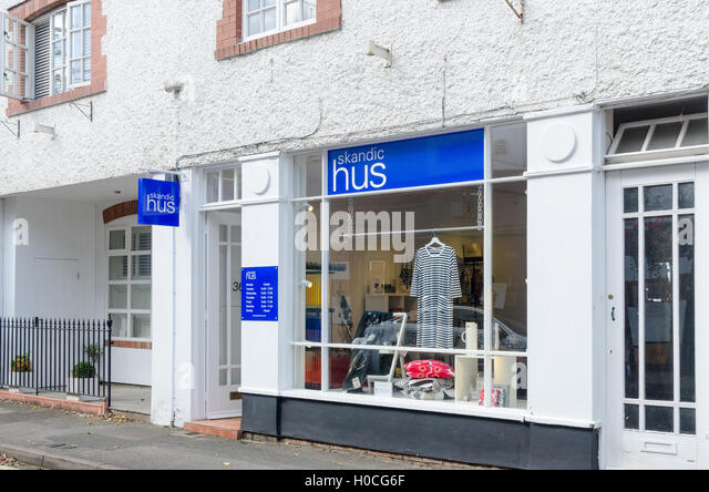 Skandic Hus scandinavian shop in Suffolk Parage, Cheltenham - Stock Image