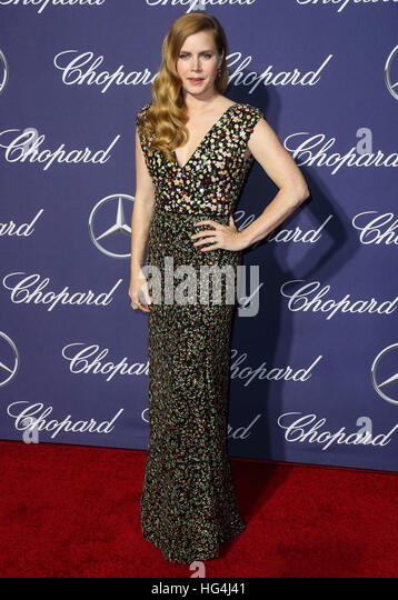 January 3rd, 2017 - Palm Springs  Amy Adams attends the 28th Annual Palm Springs International Film Festival Film - Stock Image