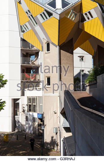Cube houses, Rotterdam, Holland - Stock Image