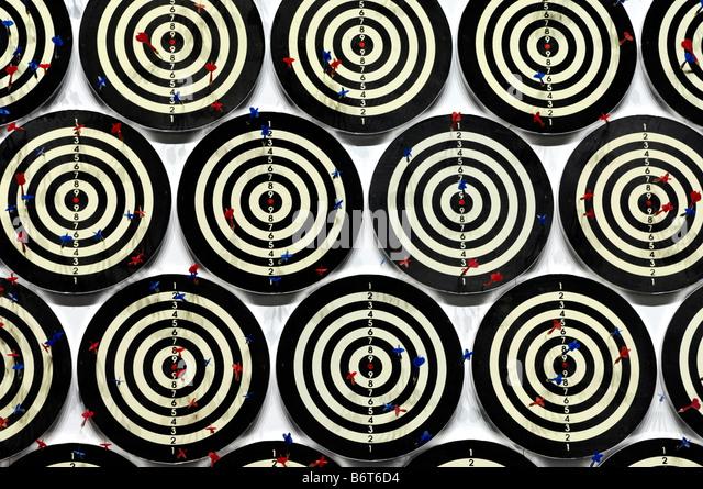 Darts - Stock Image