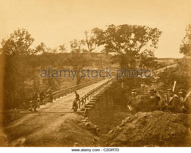 Chesterfield Bridge, North Anna, Virginia - Stock Image