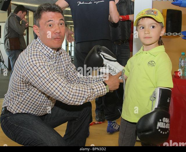 Kostya Tszyu Boxing School opens - Stock Image