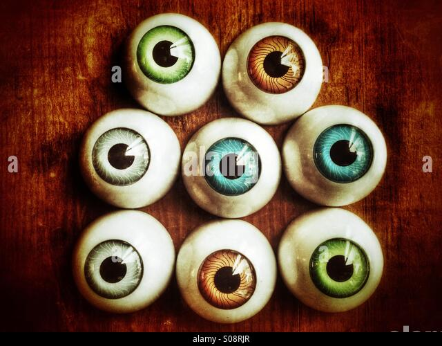 Eyes watching - Stock-Bilder