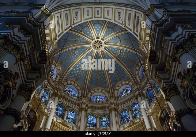 Chapel Altar Granada Stock Photos & Chapel Altar Granada ...