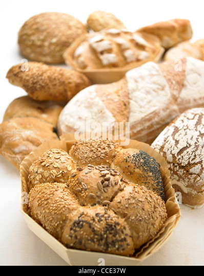 Rustic Bread Selection - Stock Image