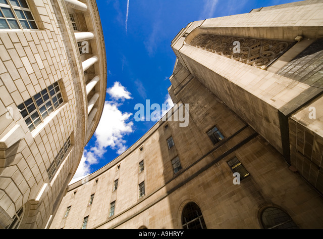 Imposing wide angle shot of Library Walk  (contd...) - Stock Image
