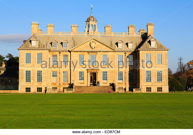 Belton House, Lincolnshire. - Stock Image