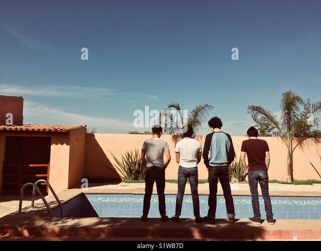 the boys - Stock Image