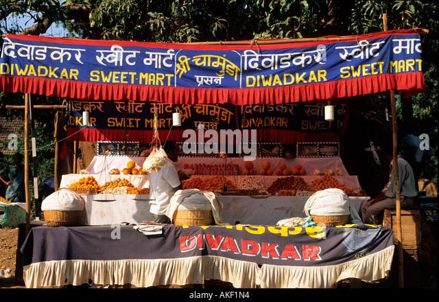 Indien, Goa, District Mormugoa, Süsswaren - Stock-Bilder