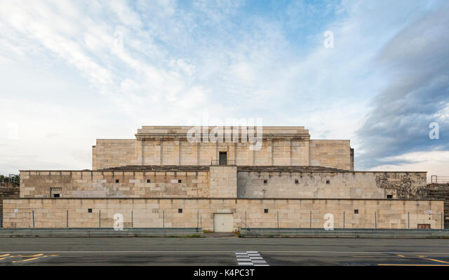 The Zeppelin Grandstand, Nuremberg - Stock Image