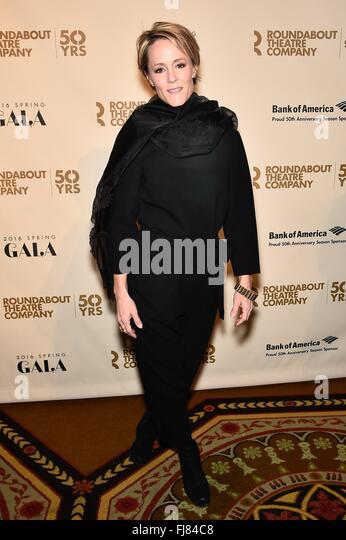 New York, NY, USA. 29th Feb, 2016. Mary Stuart Masterson at arrivals for Roundabout Theatre Company 2016 Spring - Stock Image