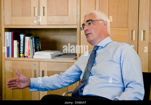 The Right Honourable Alistair Darling MP - Stock Image