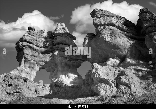 Arches along Mossy Creek Trail. Bryce National Park, Utah - Stock-Bilder