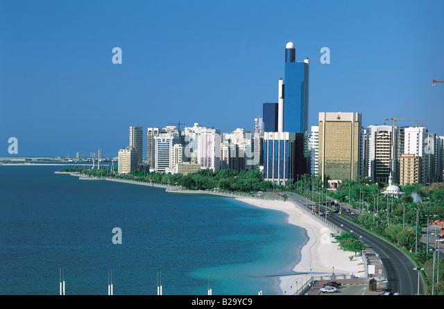 Abu Dhabi UAE - Stock Image
