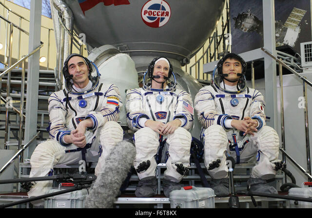 Star City, Russia. 19th November, 2015. International Space Station Expedition 46 backup crew members NASA astronaut - Stock Image