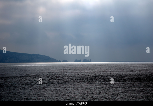 Solent and Needles England 5 of 5 Landscape - Stock Image