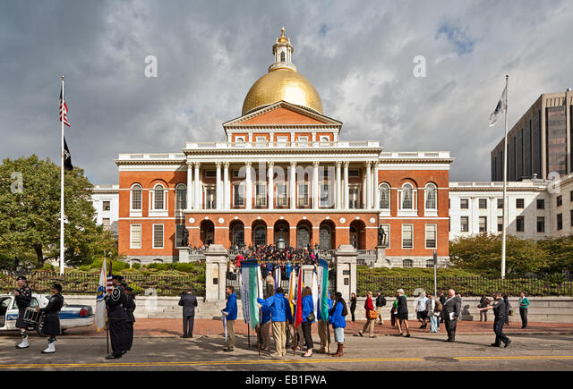 State House in Boston, Massachusetts - Stock Image