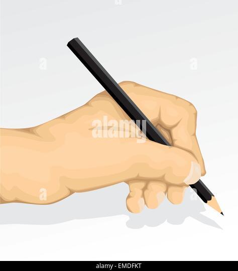 Writing hand - Stock-Bilder