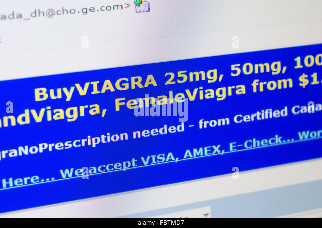 Viagra spam email
