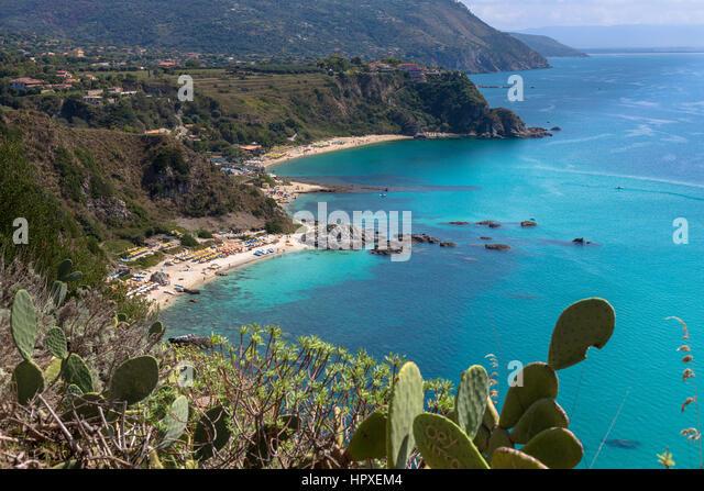 Capo Vaticano, Calabria, Italy. Grotticelle beach - Stock Image