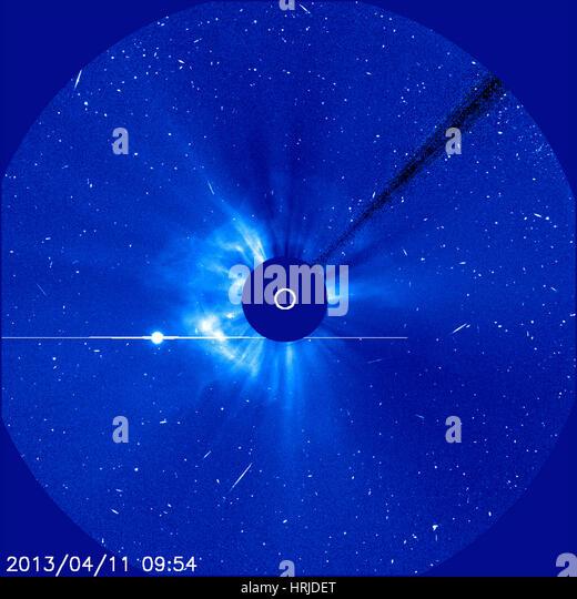 Sun, LASCO Image, 2013 - Stock Image