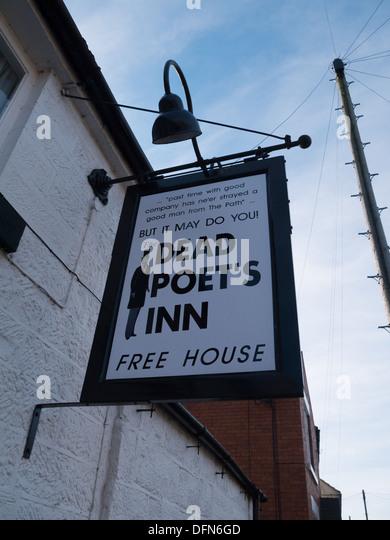 The Dead Poets Inn in Holbrook near Belper, Derbyshire, United Kingdom, UK. - Stock Image