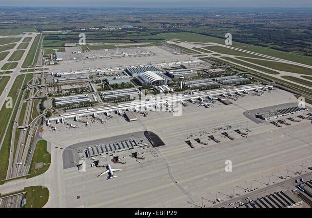 Munic airport, Germany, Bavaria, Muenchen - Stock-Bilder