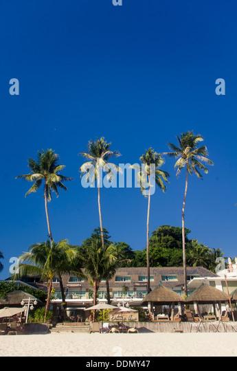 Resorts in Boracay island of philippines, holiday destination of asia. - Stock-Bilder