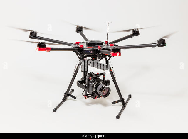 DJI Mattrice 600 Drone - Stock Image