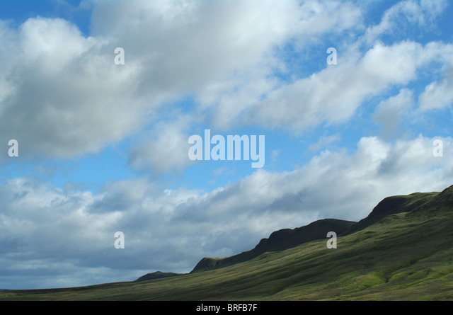 The Campsie Hills, Blane Valley, Stirlingshire Scotland UK - Stock Image
