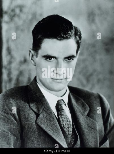 Howard Hughes (1905-1976), American Businessman, Aviator, Engineer, Film Producer, and Philanthropist, Portrait, - Stock Image