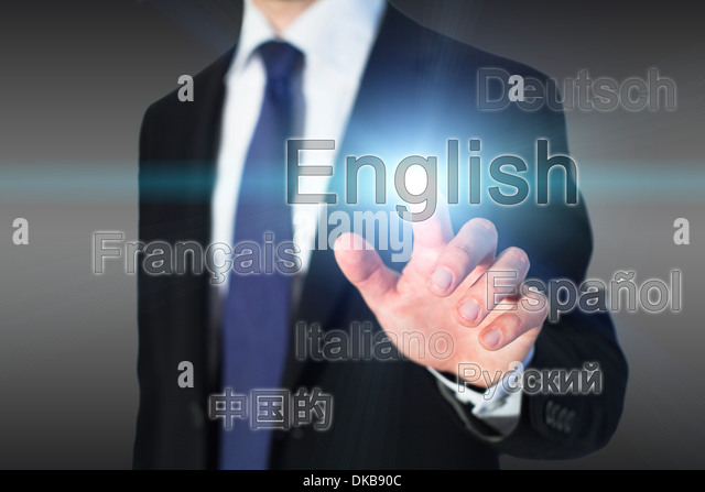 learning english, language school concept - Stock Image