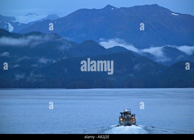 Sitka Sound, Sitka, Alaska, USA - Stock-Bilder