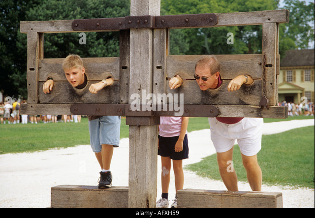 Colonial Punishments For Kids Colonial Williamsburg ...